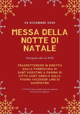 Messa notte di Natale 2020